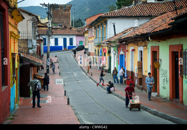 how to call bogota colombia