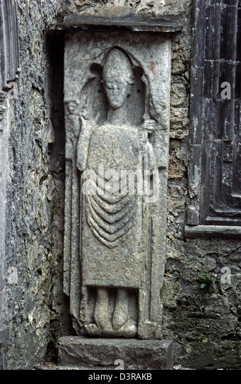 Ireland stone carving stock photos
