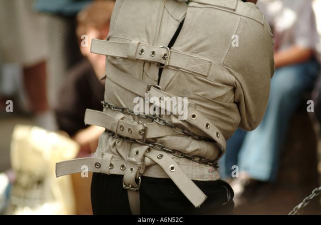 Straight Jacket Mental Stock Photos &amp Straight Jacket Mental Stock