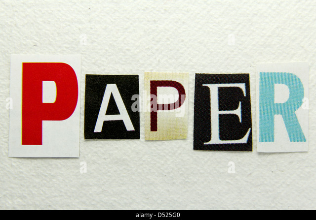word paper