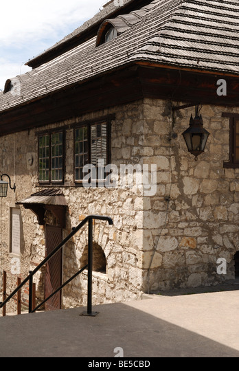 Picture house made of stone