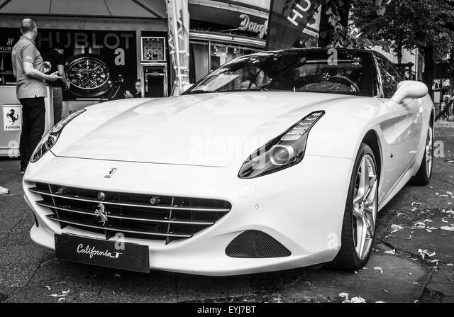 ferrari 2014 white. berlin june 14 2015 sports car ferrari california t since 2014 white