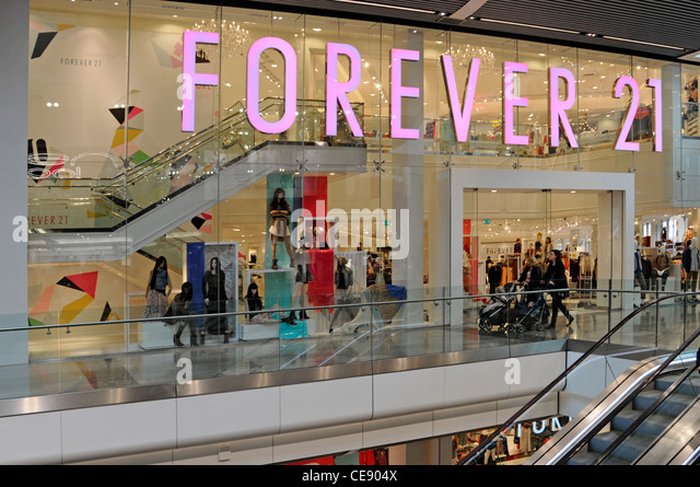 Clothing stores in mall of america