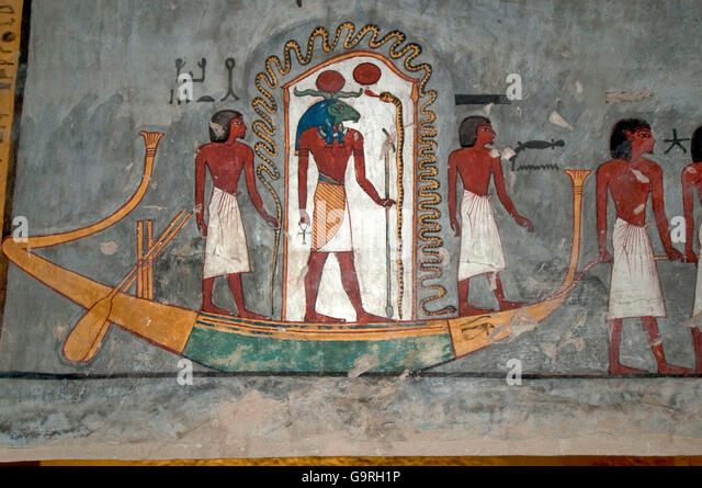 Tomb number kv 16 stock photos tomb number kv 16 stock for Egypt mural painting