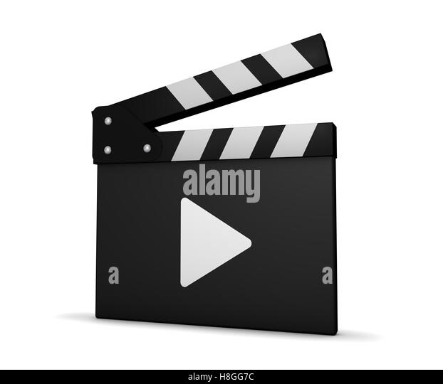 clapperboard icon stock photos clapperboard icon stock images alamy. Black Bedroom Furniture Sets. Home Design Ideas