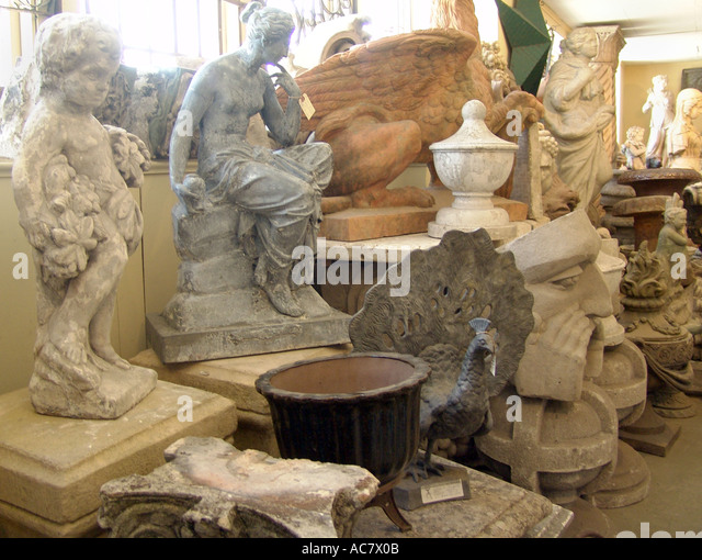 Architectural Antiques Garden Statues   Stock Image