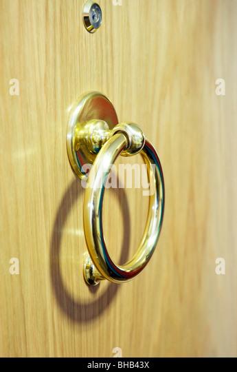 Brass Door Knocker   Stock Image