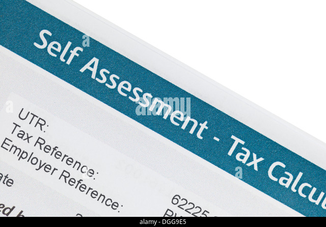Self Assessment Tax Stock Photos  Self Assessment Tax Stock