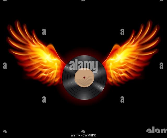 Vinyl Record Fire Stock Photos Amp Vinyl Record Fire Stock