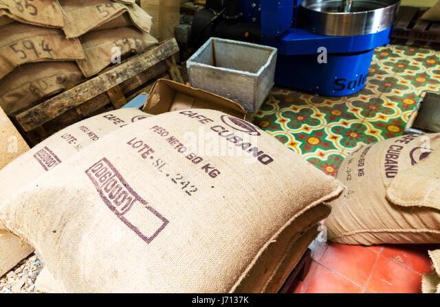 Cuban Coffee Bean Bag Cuba Beans