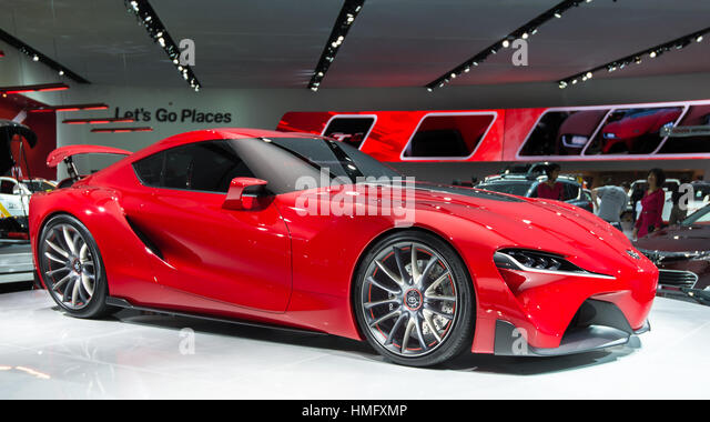 DETROIT, MI/USA   JANUARY 14: The Toyota FT 1 Concept Car