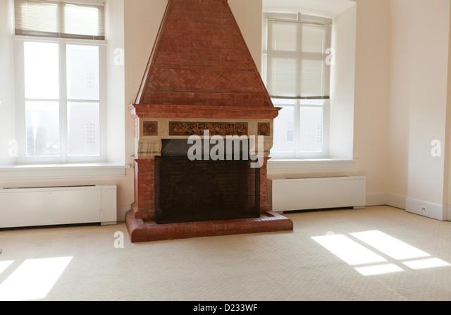 Brick Fireplace Stock Photos & Brick Fireplace Stock Images - Alamy