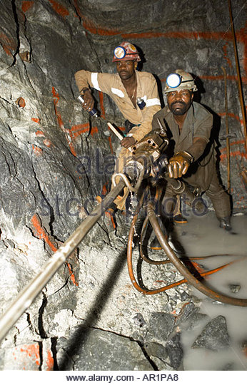 goldmine drilling 3km underground gauteng south africa ar1pa8 mine workers drill rock stock photos & mine workers drill rock underground mining hard hats at sewacar.co