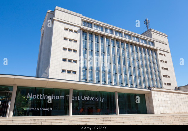 Newton And Arkwright Buildings Nottingham Trent University United Kingdom