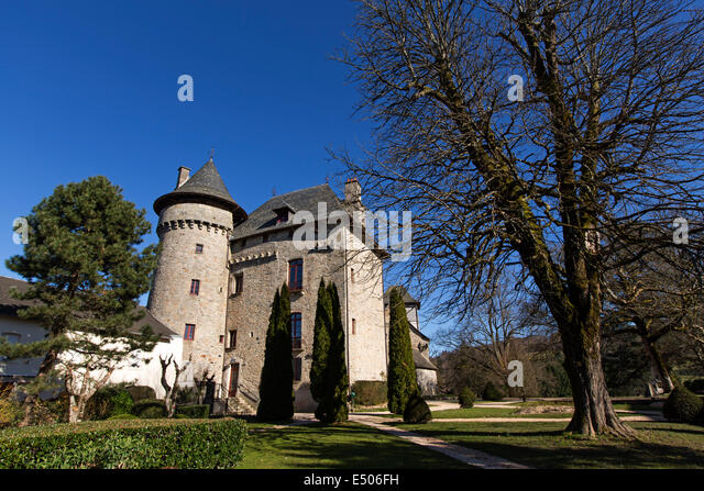 Sainte-Tulle France  City pictures : Castle Sainte Fortunade Tulle France Stock Image
