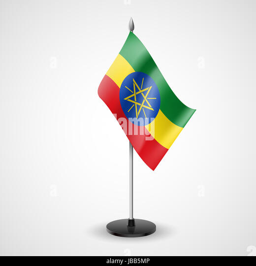Official Flag Of Ethiopia Stock Photos Official Flag Of Ethiopia