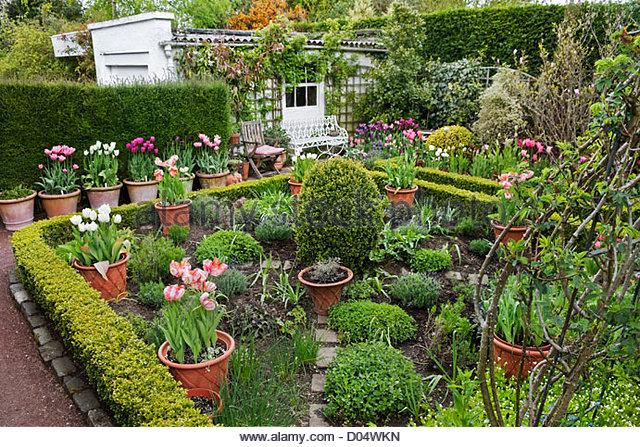 Front yard vegetable garden design - Potager Garden Herb Potager Garden Stock Photos Amp Herb Potager Garden