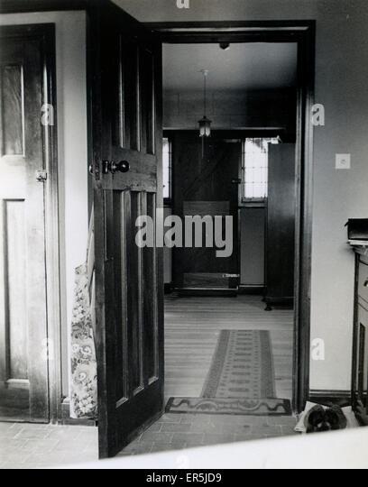 1930s house interiors. Interior  Semi Detached House Coulsdon Croydon near Purley Surrey England 1930s Stock Photos