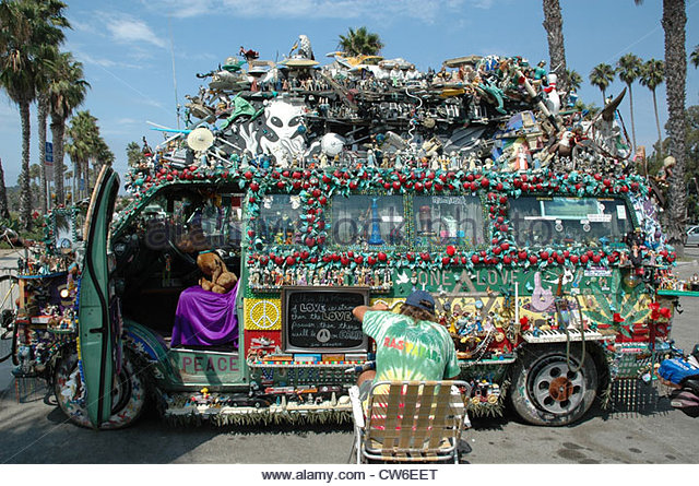 hippie bus stock  hippie bus stock images alamy