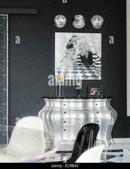 fornasetti stock photos fornasetti stock images alamy. Black Bedroom Furniture Sets. Home Design Ideas