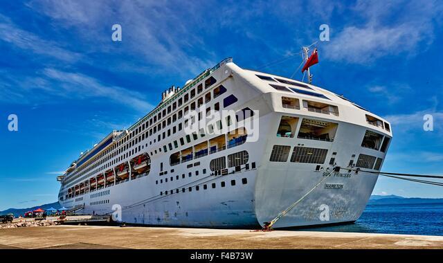Alotau Papua New Guinea  city photos : Alotau PNG Papua New Guinea Harbour Sun Princess Cruise Liner Ship ...
