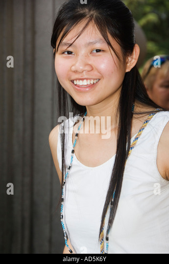 Young chinese girl