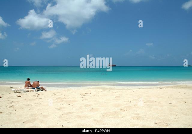Antigua Barbuda Beach Stock Photos & Antigua Barbuda Beach ...