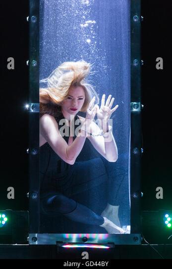 Water Tank Magic : Impossible magic show magical bones jonathan stock photos