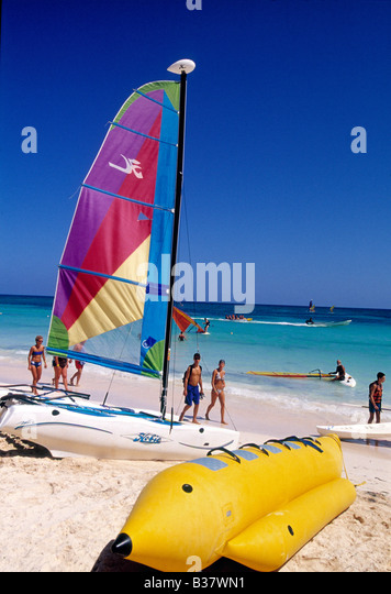 Banana Boat Caribbean Stock Photos Amp Banana Boat Caribbean Stock Images Alamy