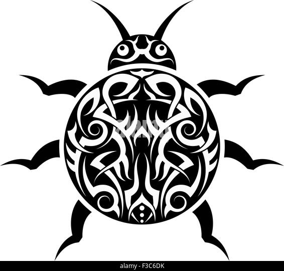 ladybug vector hawaii tattoo - photo #9