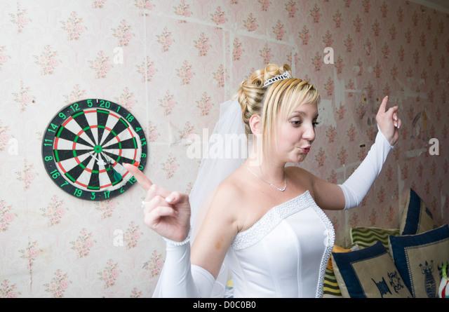 Russian woman of darts