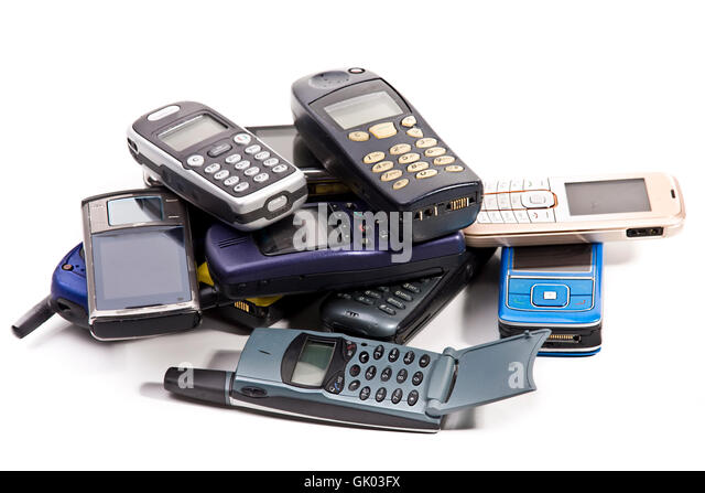 Second Hand Phones Cut Out Stock Images & Pictures - Alamy