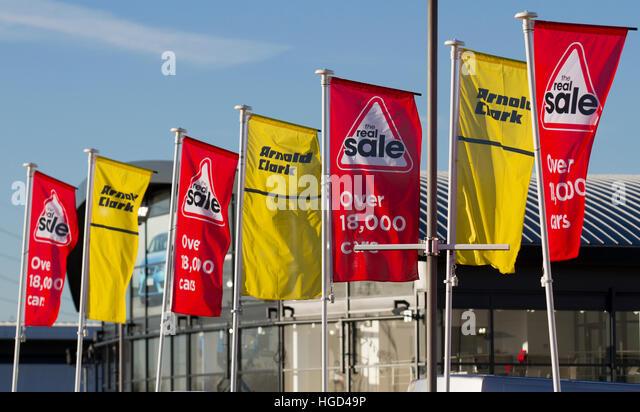 Business park signage uk stock photos business park for Airport motor mile car dealerships