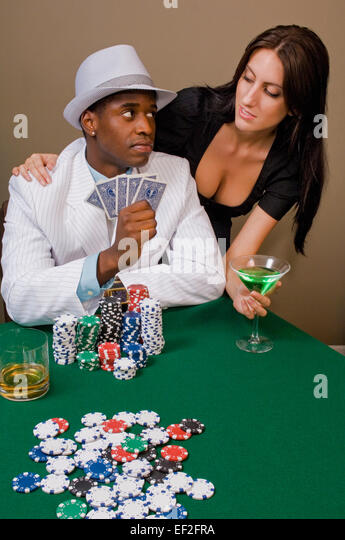 Lovers poker game