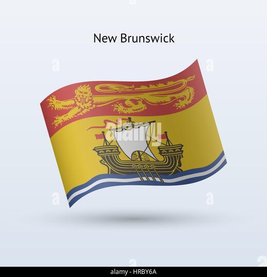 New Brunswick Flag Stock Photos & New Brunswick Flag Stock