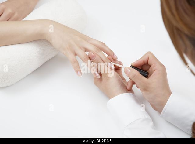 Nail Paint Stock Photos & Nail Paint Stock Images - Alamy