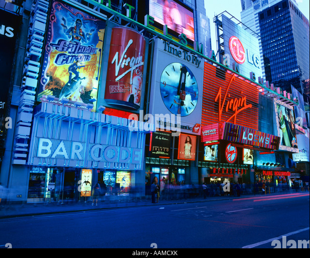 virgin megastore new york times square