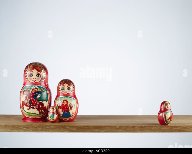 Russian Doll Christmas Tree Decorations