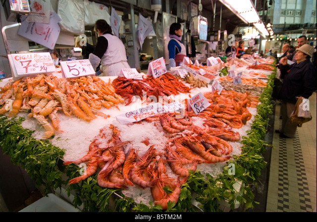 Central spain stock photos central spain stock images for Central fish market