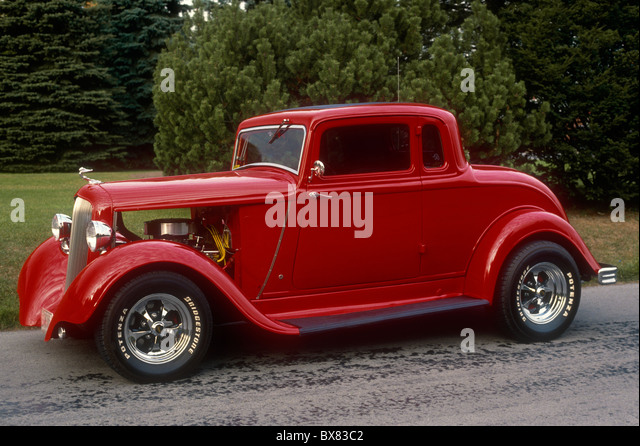 Hopped stock photos hopped stock images alamy for 1933 plymouth 5 window coupe
