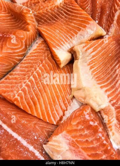 Prepared showcase stock photos prepared showcase stock for Hagen s fish market