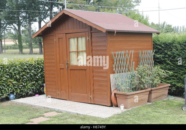 Lock Garden Shed Stock Photos Lock Garden Shed Stock Images Alamy