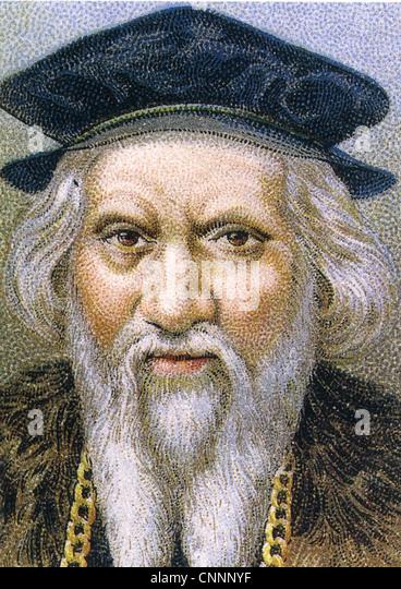 john cabot c 1450 c 1499 italian navigator and explorer stock image