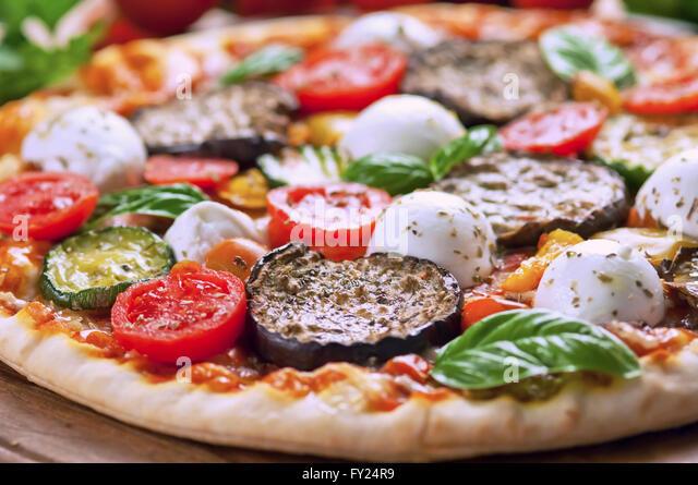 Pizza Fresh Italian Ingredients On Stock Photos & Pizza ...