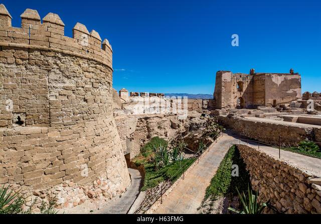Almeria Castle Stock Photos & Almeria Castle Stock Images - Alamy