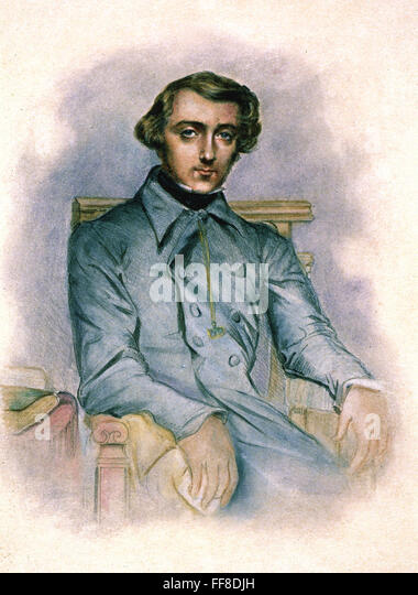a biography of alexis de tocqueville a french historian French historian and aristocrat alexis de tocqueville, the tocqueville society   leadership focused on the building blocks for a better life: a quality education.