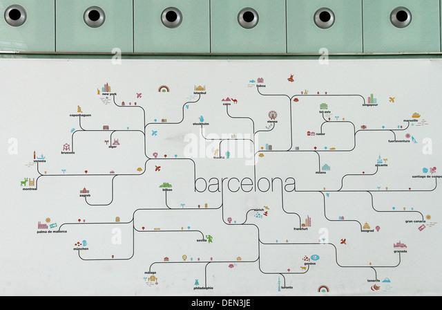 barcelona airport termenal 1
