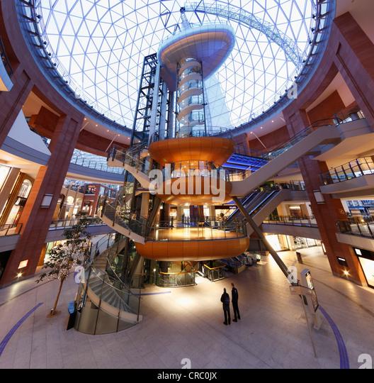 Victoria Square Shopping Centre Belfast Northern Ireland Great Britain Europe
