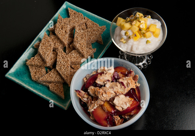 Sesame and Honey Candy, Coconut-Ginger Rice Pudding and Peach ...