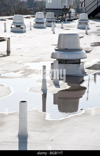 Commercial Roof Ventilation : Commercial industrial units stock photos